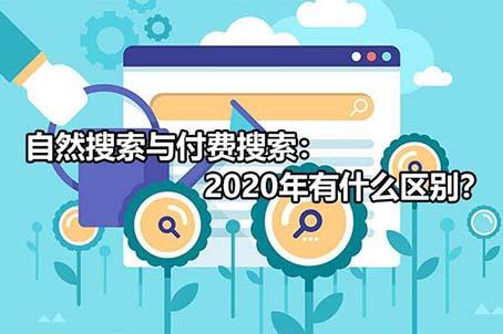 自然搜索与付费搜索:2020年有什么区别?